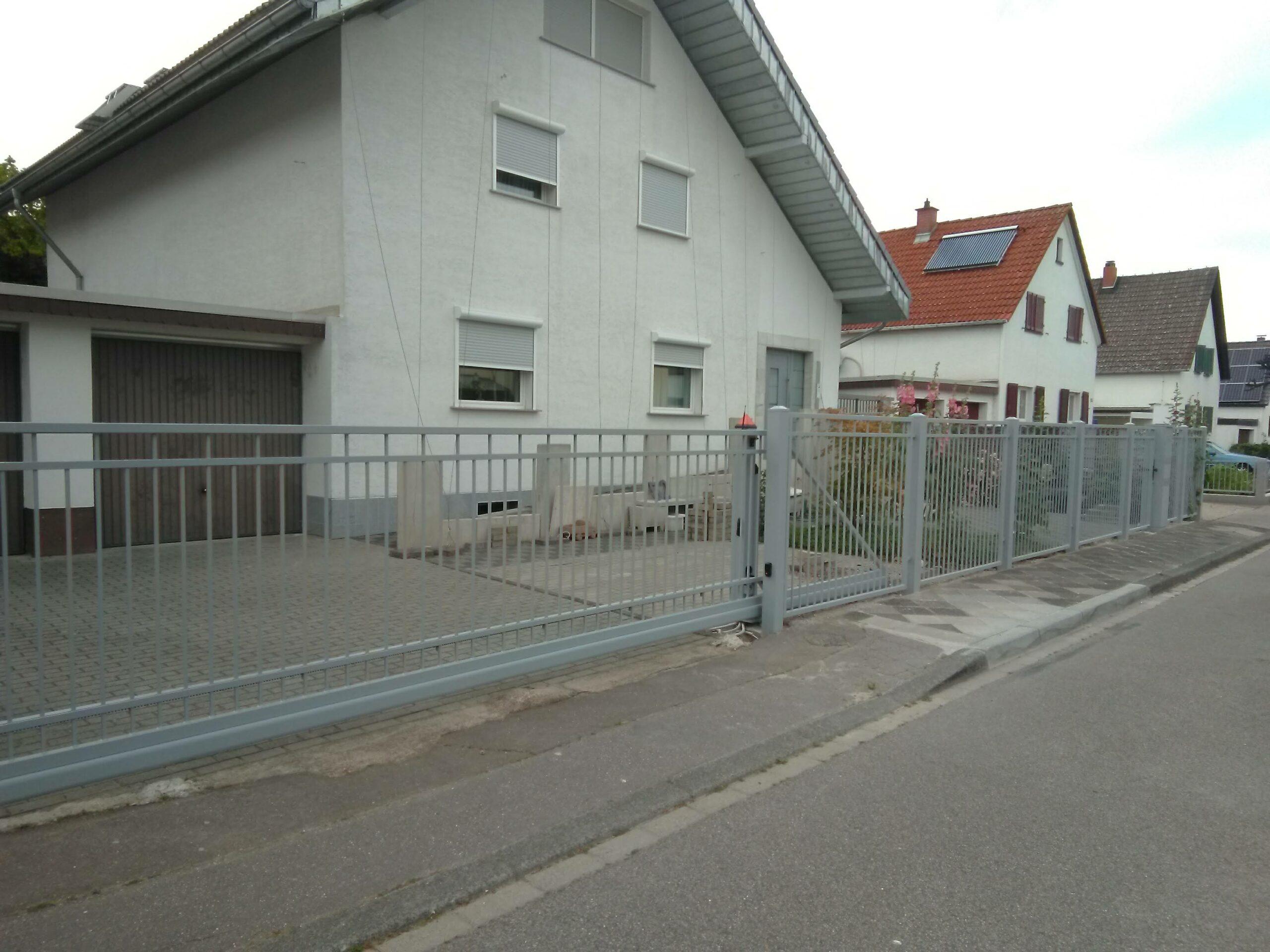 Tor und Zaunanlage - Mannheim - Eigene Scholle