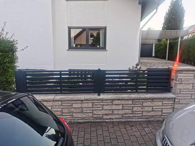 Tor- und Zaunanlage Karlsbad